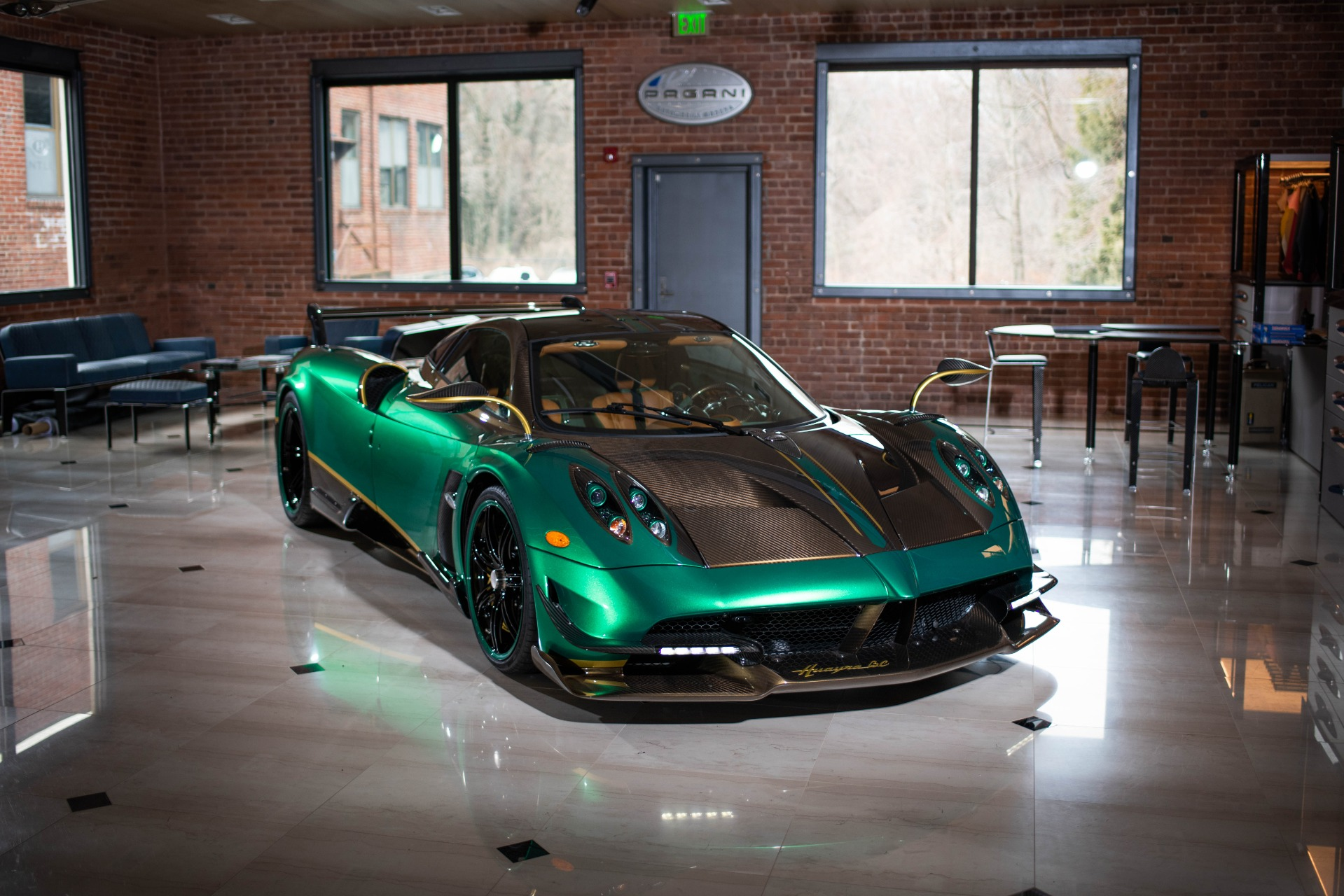 Used 2017 Pagani Huayra BC for sale Call for price at Rolls-Royce Motor Cars Greenwich in Greenwich CT 06830 1