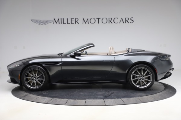 New 2021 Aston Martin DB11 Volante Convertible for sale $270,386 at Rolls-Royce Motor Cars Greenwich in Greenwich CT 06830 2