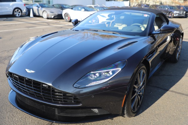New 2021 Aston Martin DB11 Volante Convertible for sale $270,386 at Rolls-Royce Motor Cars Greenwich in Greenwich CT 06830 27
