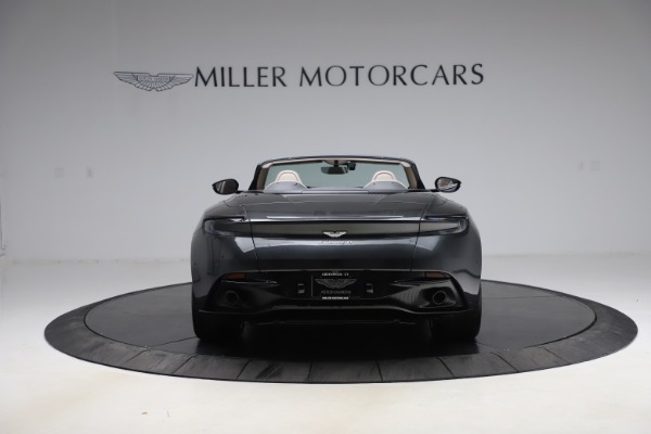 New 2021 Aston Martin DB11 Volante Convertible for sale $270,386 at Rolls-Royce Motor Cars Greenwich in Greenwich CT 06830 5