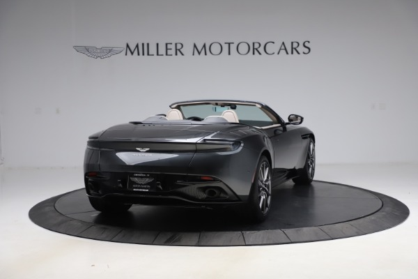 New 2021 Aston Martin DB11 Volante Convertible for sale $270,386 at Rolls-Royce Motor Cars Greenwich in Greenwich CT 06830 6