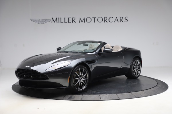 New 2021 Aston Martin DB11 Volante Convertible for sale $270,386 at Rolls-Royce Motor Cars Greenwich in Greenwich CT 06830 1