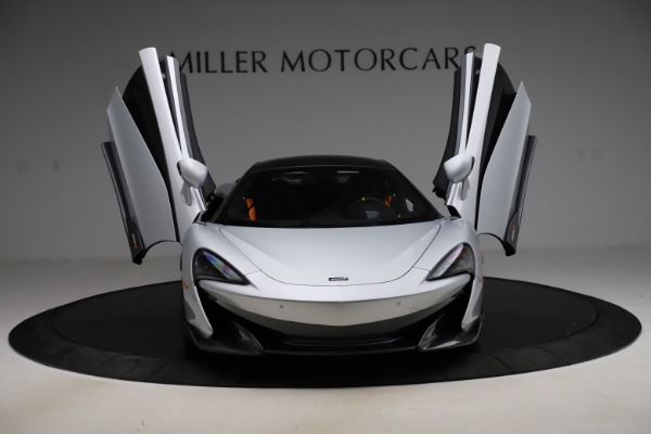 Used 2019 McLaren 600LT for sale Sold at Rolls-Royce Motor Cars Greenwich in Greenwich CT 06830 12