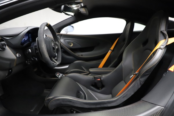 Used 2019 McLaren 600LT for sale Sold at Rolls-Royce Motor Cars Greenwich in Greenwich CT 06830 14