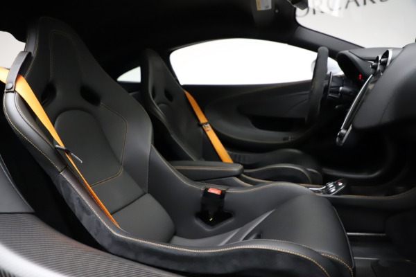 Used 2019 McLaren 600LT for sale Sold at Rolls-Royce Motor Cars Greenwich in Greenwich CT 06830 21