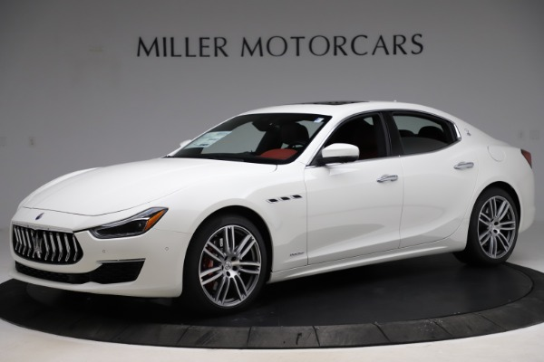 New 2021 Maserati Ghibli S Q4 GranLusso for sale $95,835 at Rolls-Royce Motor Cars Greenwich in Greenwich CT 06830 2
