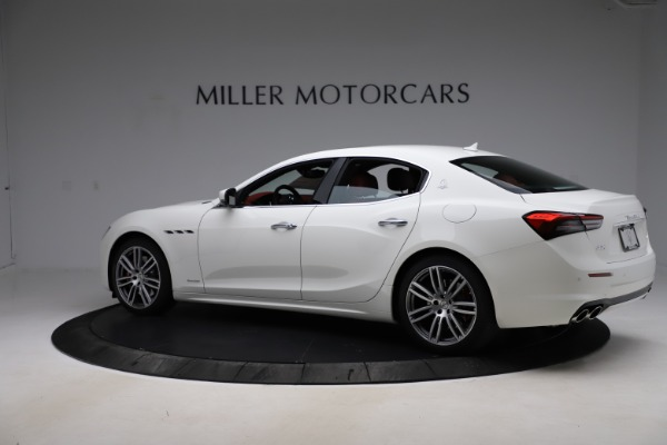New 2021 Maserati Ghibli S Q4 GranLusso for sale $95,835 at Rolls-Royce Motor Cars Greenwich in Greenwich CT 06830 4