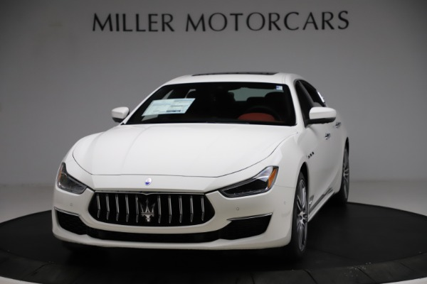 New 2021 Maserati Ghibli S Q4 GranLusso for sale $95,835 at Rolls-Royce Motor Cars Greenwich in Greenwich CT 06830 1