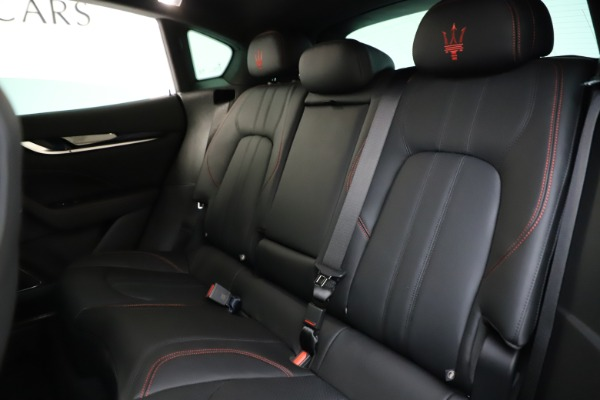 New 2021 Maserati Levante Q4 GranSport for sale $92,485 at Rolls-Royce Motor Cars Greenwich in Greenwich CT 06830 19
