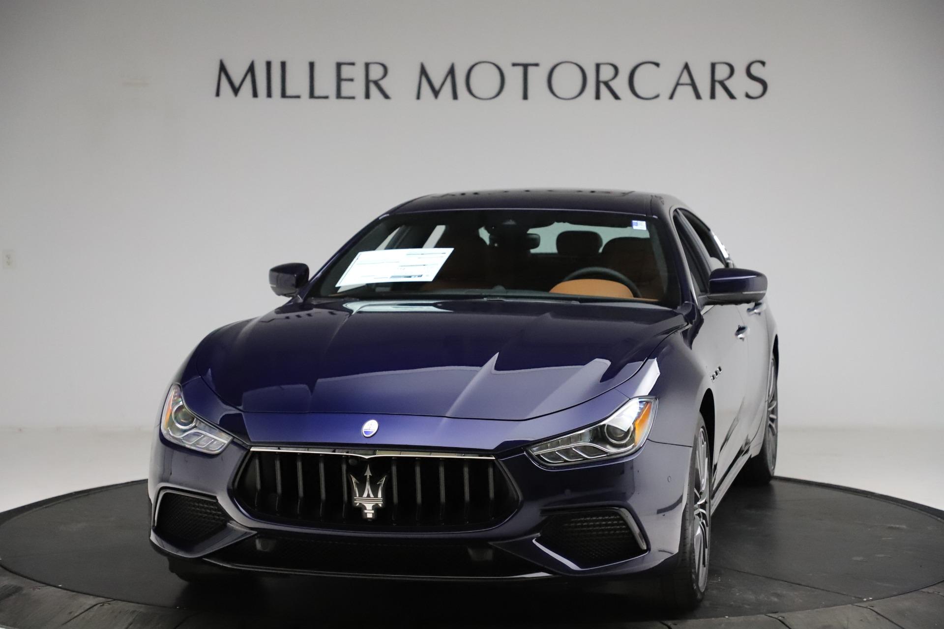 New 2021 Maserati Ghibli S Q4 for sale $90,925 at Rolls-Royce Motor Cars Greenwich in Greenwich CT 06830 1