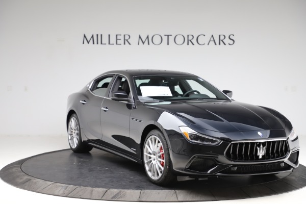 New 2021 Maserati Ghibli S Q4 GranSport for sale $98,035 at Rolls-Royce Motor Cars Greenwich in Greenwich CT 06830 11