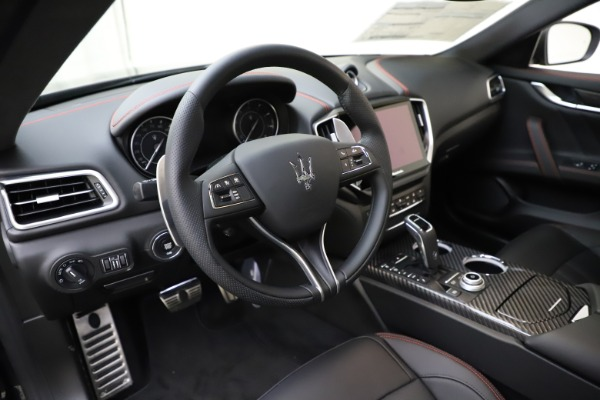 New 2021 Maserati Ghibli S Q4 GranSport for sale $98,035 at Rolls-Royce Motor Cars Greenwich in Greenwich CT 06830 16