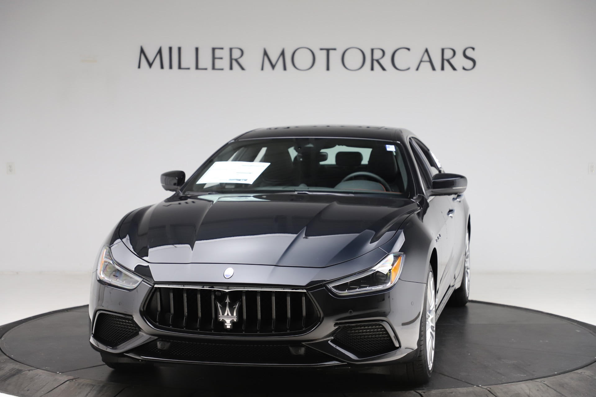 New 2021 Maserati Ghibli S Q4 GranSport for sale $98,035 at Rolls-Royce Motor Cars Greenwich in Greenwich CT 06830 1