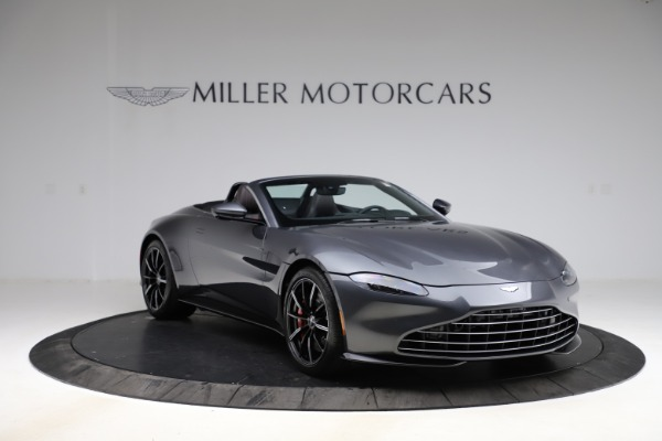 New 2021 Aston Martin Vantage Roadster Convertible for sale $178,186 at Rolls-Royce Motor Cars Greenwich in Greenwich CT 06830 10