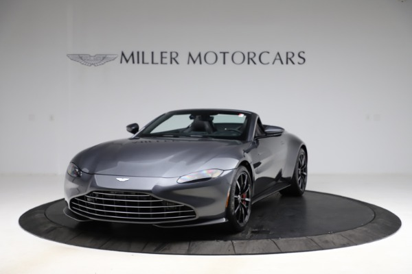 New 2021 Aston Martin Vantage Roadster Convertible for sale $178,186 at Rolls-Royce Motor Cars Greenwich in Greenwich CT 06830 12