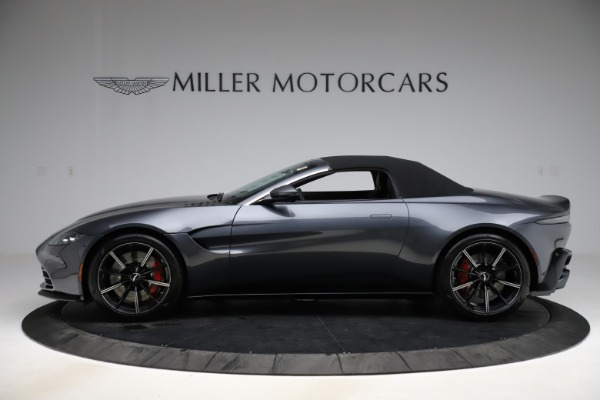 New 2021 Aston Martin Vantage Roadster Convertible for sale $178,186 at Rolls-Royce Motor Cars Greenwich in Greenwich CT 06830 13