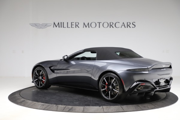 New 2021 Aston Martin Vantage Roadster Convertible for sale $178,186 at Rolls-Royce Motor Cars Greenwich in Greenwich CT 06830 14