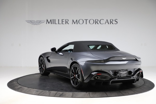 New 2021 Aston Martin Vantage Roadster Convertible for sale $178,186 at Rolls-Royce Motor Cars Greenwich in Greenwich CT 06830 15