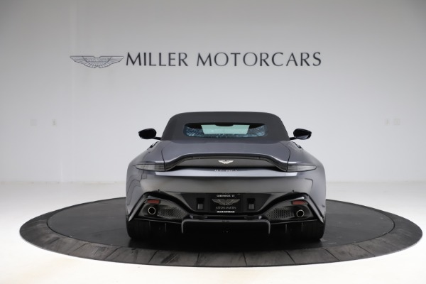 New 2021 Aston Martin Vantage Roadster Convertible for sale $178,186 at Rolls-Royce Motor Cars Greenwich in Greenwich CT 06830 16