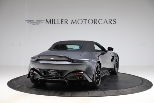 New 2021 Aston Martin Vantage Roadster Convertible for sale $178,186 at Rolls-Royce Motor Cars Greenwich in Greenwich CT 06830 17