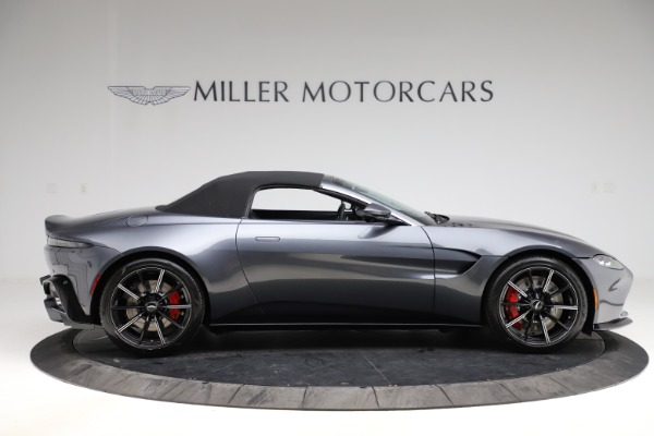 New 2021 Aston Martin Vantage Roadster Convertible for sale $178,186 at Rolls-Royce Motor Cars Greenwich in Greenwich CT 06830 19