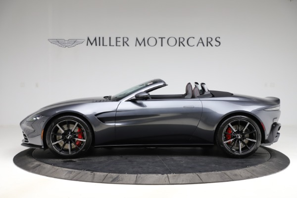 New 2021 Aston Martin Vantage Roadster Convertible for sale $178,186 at Rolls-Royce Motor Cars Greenwich in Greenwich CT 06830 2