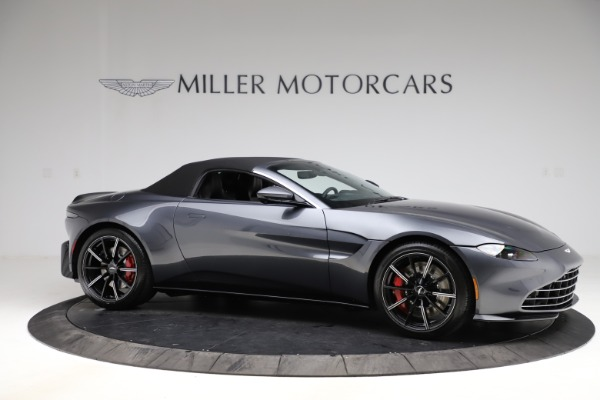 New 2021 Aston Martin Vantage Roadster Convertible for sale $178,186 at Rolls-Royce Motor Cars Greenwich in Greenwich CT 06830 20