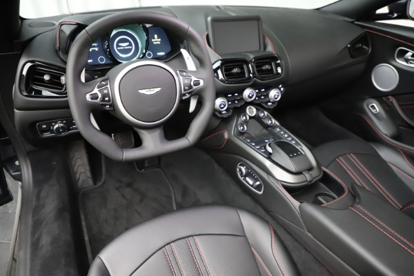 New 2021 Aston Martin Vantage Roadster Convertible for sale $178,186 at Rolls-Royce Motor Cars Greenwich in Greenwich CT 06830 22