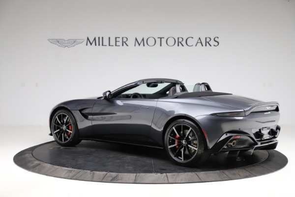 New 2021 Aston Martin Vantage Roadster Convertible for sale $178,186 at Rolls-Royce Motor Cars Greenwich in Greenwich CT 06830 3