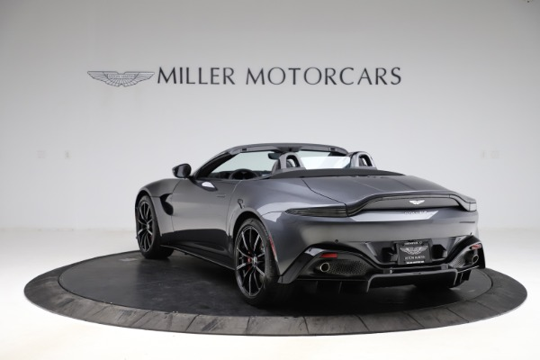 New 2021 Aston Martin Vantage Roadster Convertible for sale $178,186 at Rolls-Royce Motor Cars Greenwich in Greenwich CT 06830 4