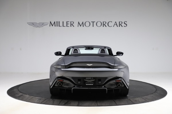 New 2021 Aston Martin Vantage Roadster Convertible for sale $178,186 at Rolls-Royce Motor Cars Greenwich in Greenwich CT 06830 5