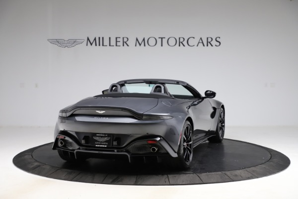 New 2021 Aston Martin Vantage Roadster Convertible for sale $178,186 at Rolls-Royce Motor Cars Greenwich in Greenwich CT 06830 6