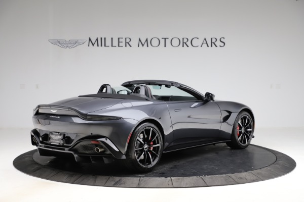 New 2021 Aston Martin Vantage Roadster Convertible for sale $178,186 at Rolls-Royce Motor Cars Greenwich in Greenwich CT 06830 7