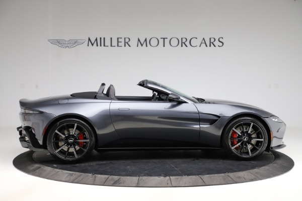 New 2021 Aston Martin Vantage Roadster Convertible for sale $178,186 at Rolls-Royce Motor Cars Greenwich in Greenwich CT 06830 8