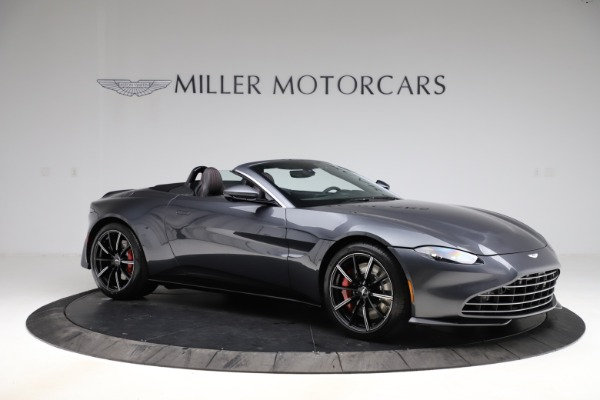 New 2021 Aston Martin Vantage Roadster Convertible for sale $178,186 at Rolls-Royce Motor Cars Greenwich in Greenwich CT 06830 9