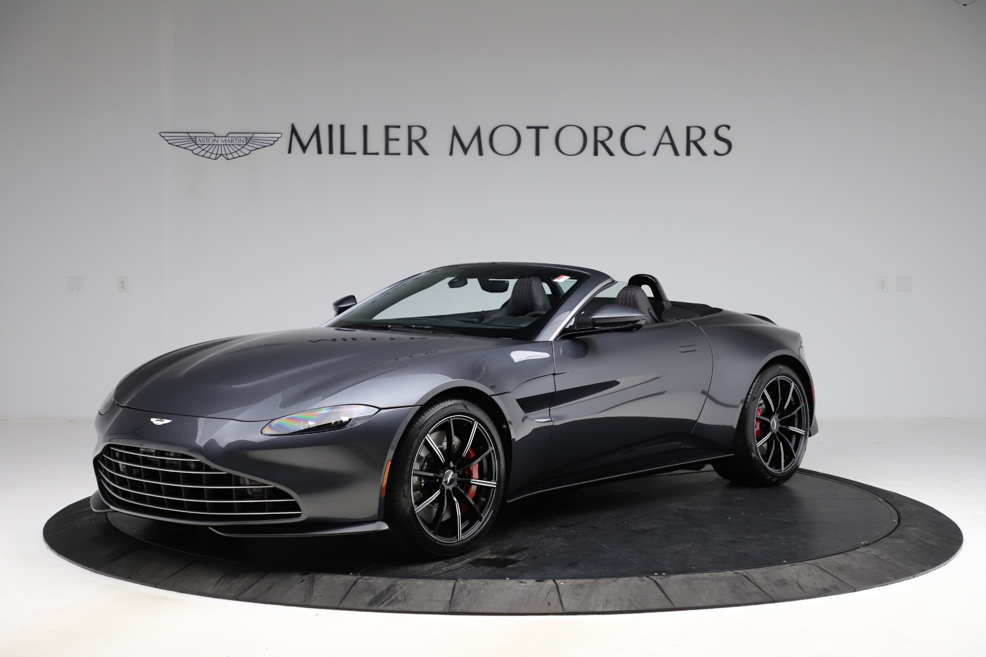 New 2021 Aston Martin Vantage Roadster Convertible for sale $178,186 at Rolls-Royce Motor Cars Greenwich in Greenwich CT 06830 1