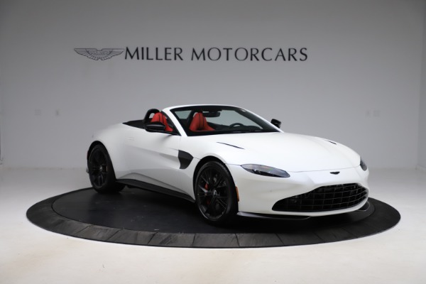New 2021 Aston Martin Vantage Roadster Convertible for sale $189,186 at Rolls-Royce Motor Cars Greenwich in Greenwich CT 06830 10