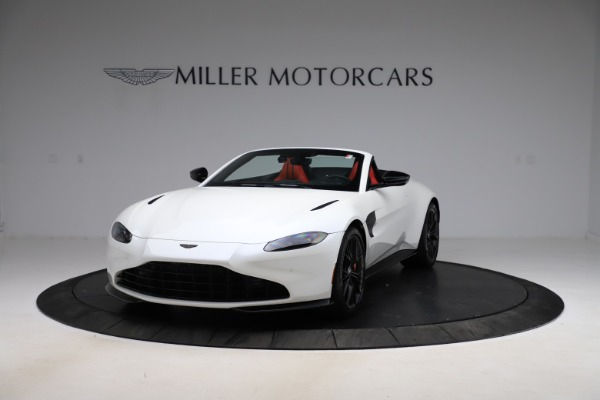 New 2021 Aston Martin Vantage Roadster Convertible for sale $189,186 at Rolls-Royce Motor Cars Greenwich in Greenwich CT 06830 12