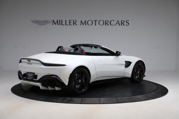 New 2021 Aston Martin Vantage Roadster Convertible for sale $189,186 at Rolls-Royce Motor Cars Greenwich in Greenwich CT 06830 7