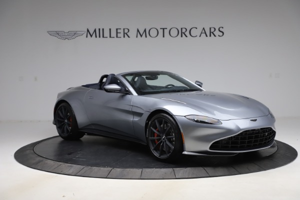 New 2021 Aston Martin Vantage Roadster Convertible for sale $199,285 at Rolls-Royce Motor Cars Greenwich in Greenwich CT 06830 10