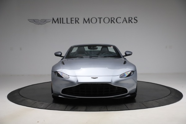 New 2021 Aston Martin Vantage Roadster Convertible for sale $199,285 at Rolls-Royce Motor Cars Greenwich in Greenwich CT 06830 12