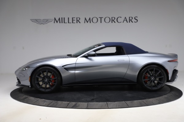 New 2021 Aston Martin Vantage Roadster Convertible for sale $199,285 at Rolls-Royce Motor Cars Greenwich in Greenwich CT 06830 16