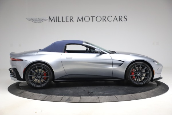 New 2021 Aston Martin Vantage Roadster Convertible for sale $199,285 at Rolls-Royce Motor Cars Greenwich in Greenwich CT 06830 17