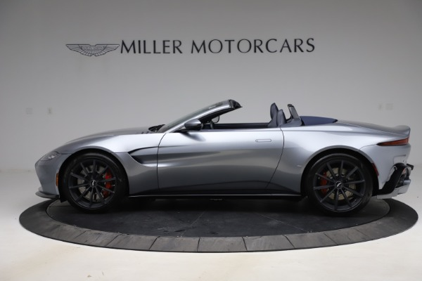 New 2021 Aston Martin Vantage Roadster Convertible for sale $199,285 at Rolls-Royce Motor Cars Greenwich in Greenwich CT 06830 2