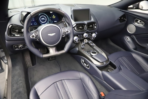New 2021 Aston Martin Vantage Roadster Convertible for sale $199,285 at Rolls-Royce Motor Cars Greenwich in Greenwich CT 06830 22