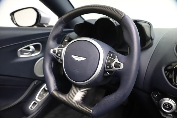 New 2021 Aston Martin Vantage Roadster Convertible for sale $199,285 at Rolls-Royce Motor Cars Greenwich in Greenwich CT 06830 26