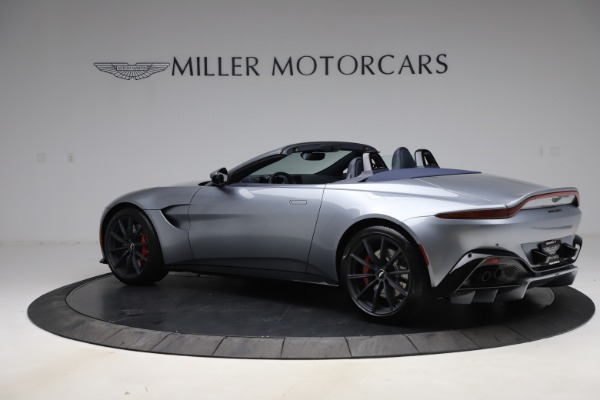New 2021 Aston Martin Vantage Roadster Convertible for sale $199,285 at Rolls-Royce Motor Cars Greenwich in Greenwich CT 06830 3