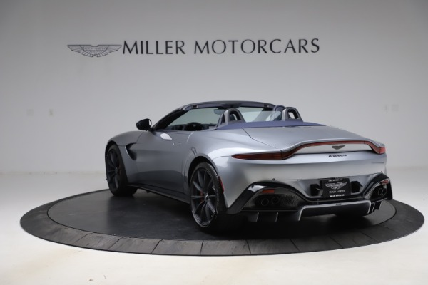 New 2021 Aston Martin Vantage Roadster Convertible for sale $199,285 at Rolls-Royce Motor Cars Greenwich in Greenwich CT 06830 4