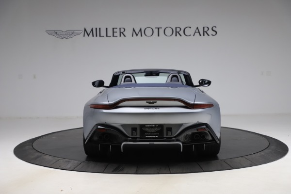 New 2021 Aston Martin Vantage Roadster Convertible for sale $199,285 at Rolls-Royce Motor Cars Greenwich in Greenwich CT 06830 5