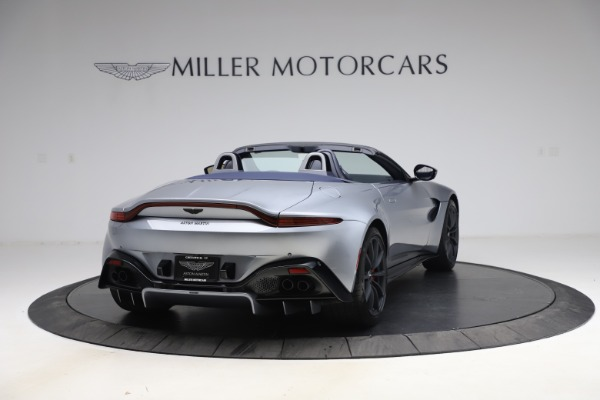 New 2021 Aston Martin Vantage Roadster Convertible for sale $199,285 at Rolls-Royce Motor Cars Greenwich in Greenwich CT 06830 6